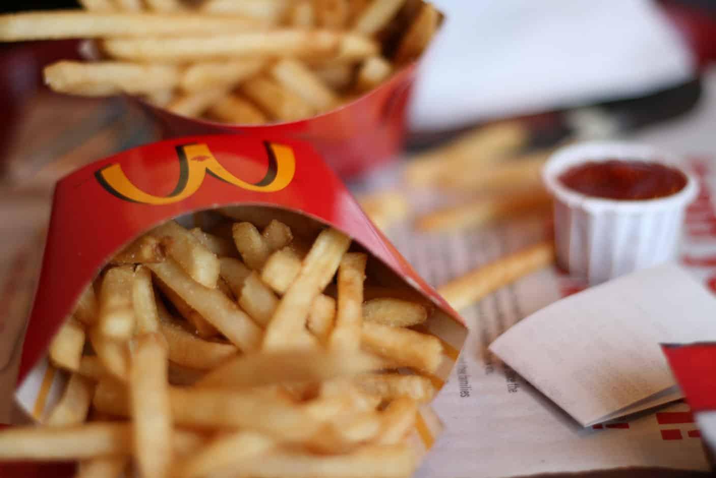 Frites McDonald's, image de Natasha C Dunn